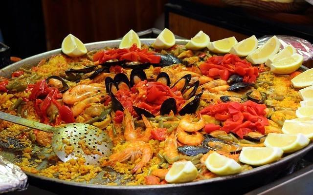 paella przepis z owocami morza