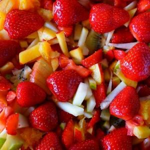 Przepis na sałatkę owocową