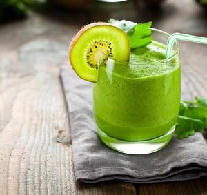 Zielony koktajl witaminowy