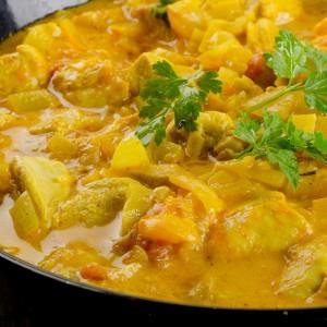 Pyszny kurczak curry przepis