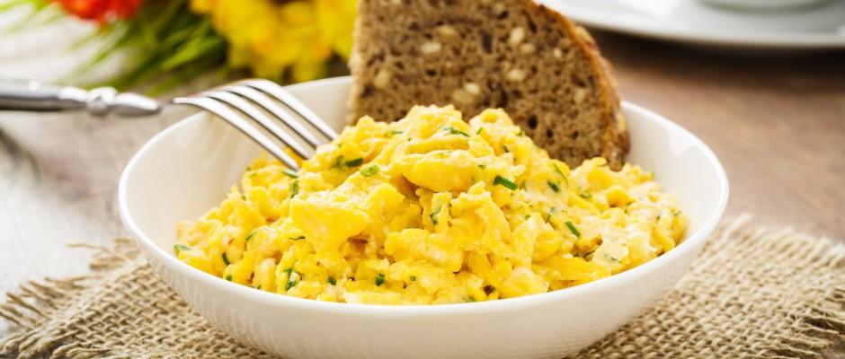 Przepis na jajecznicę