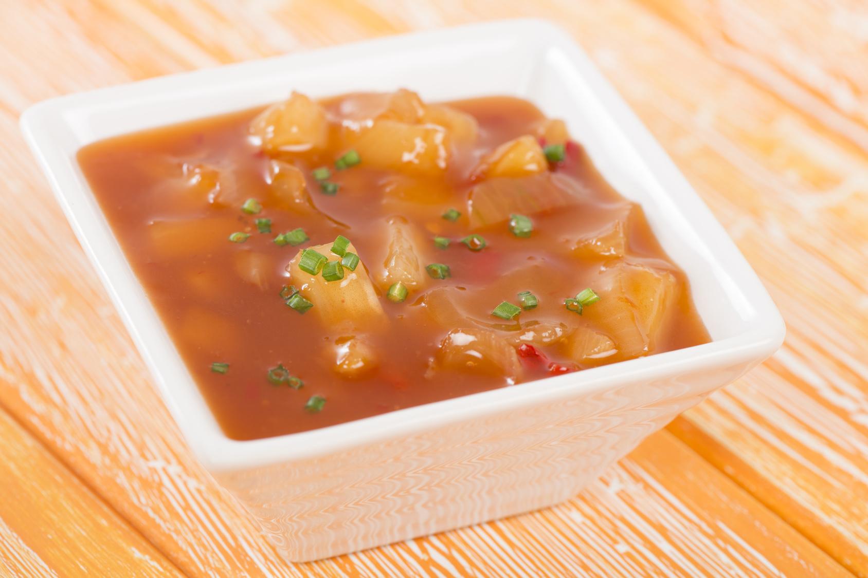 sos słodko kwaśny przepis