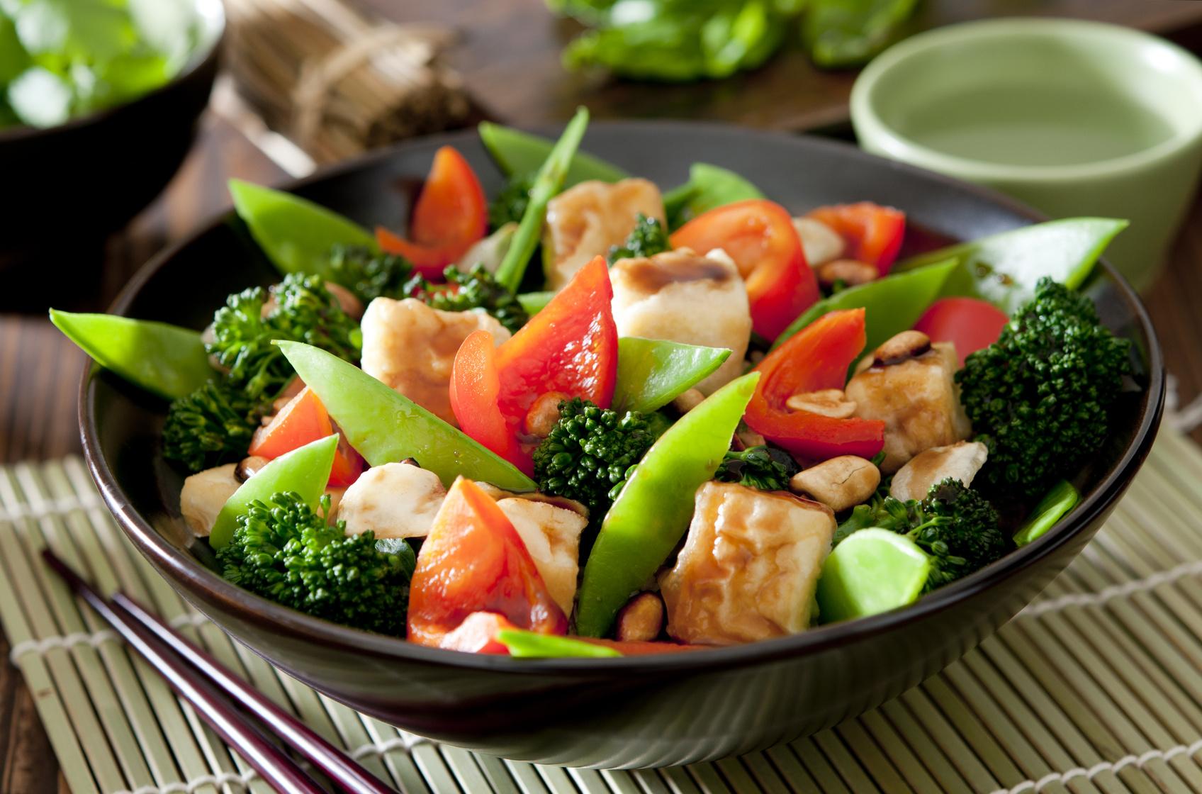 Tofu przepisy z warzywami