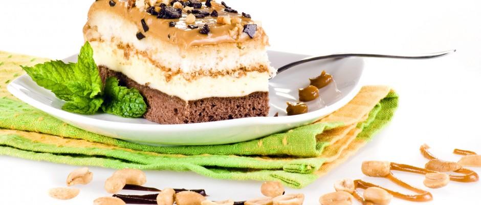 snickers ciasto przepis
