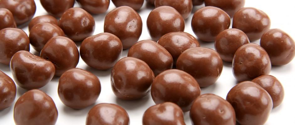Orzeszki w czekoladzie przepis